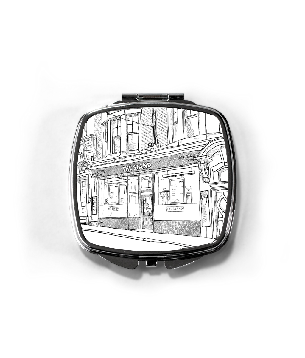 Matt Reed Illustration | Compact Mirror | The Stand Newcastle