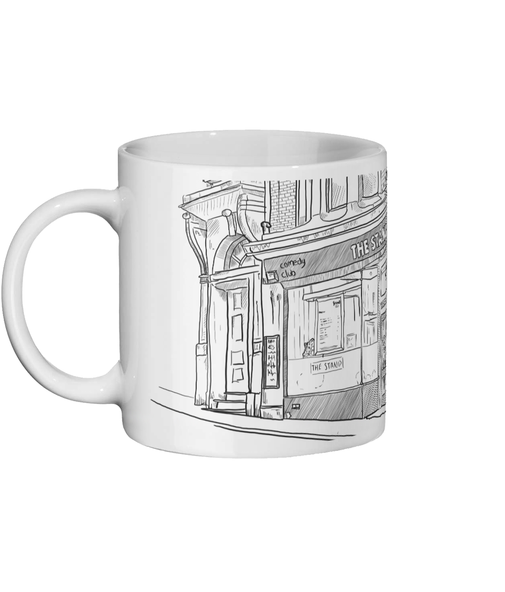 Matt Reed Illustration | Mug | The Stand Newcastle