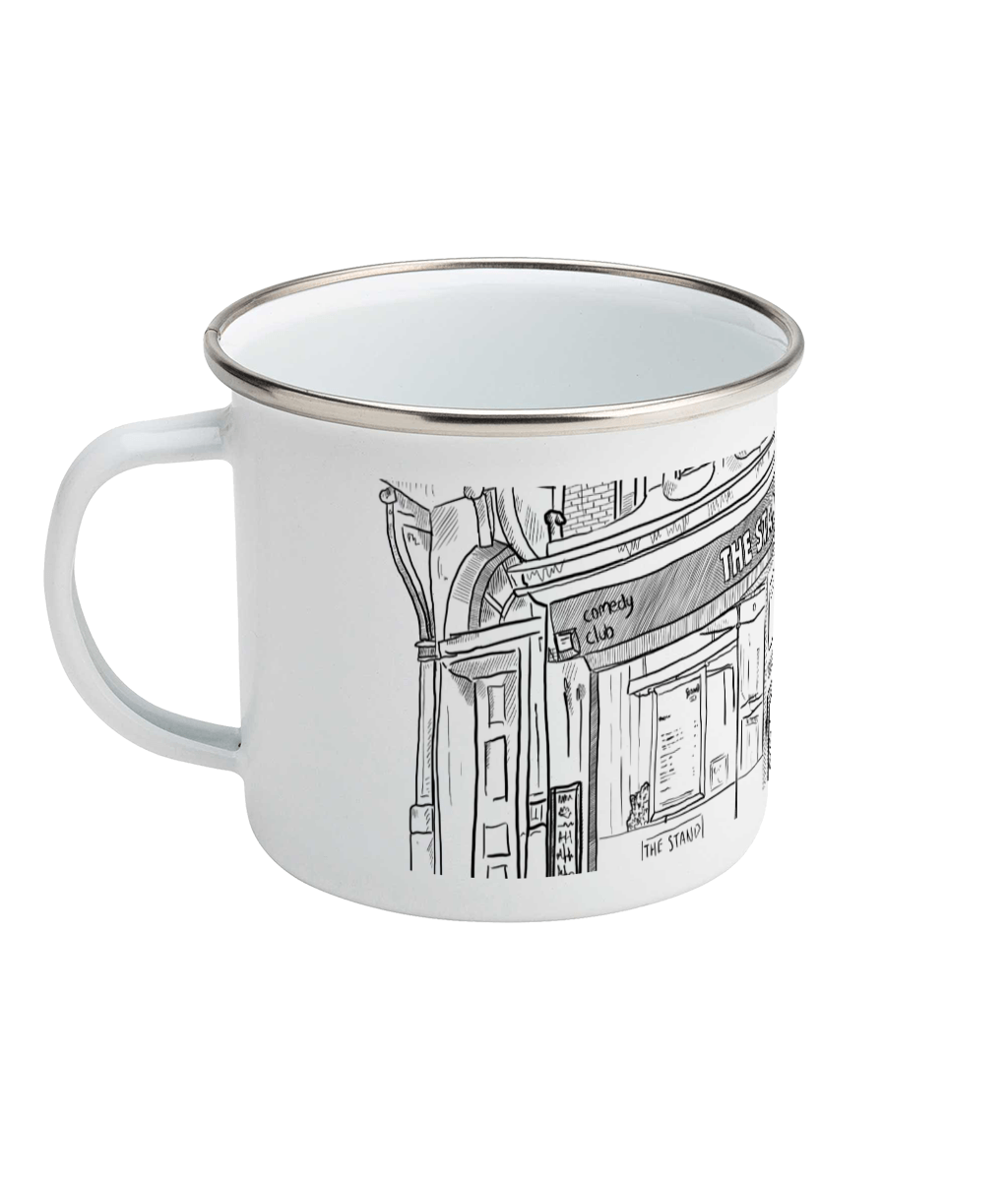 Matt Reed Illustration | Enamel Mug | The Stand Newcastle