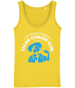 Ladies Loose Fitted Vest | The Stand Classic Blue Cowboy