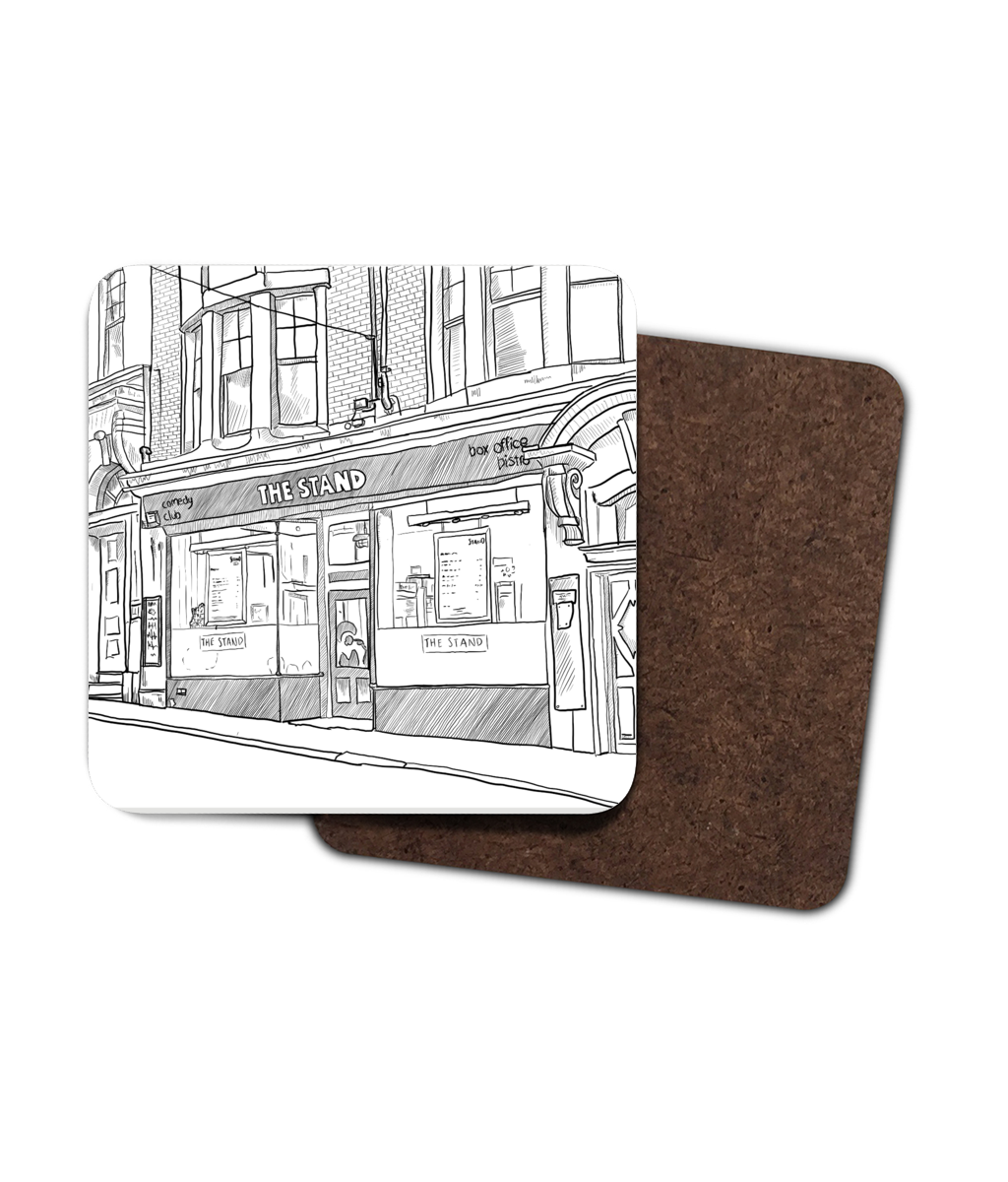 Matt Reed Illustration | Coasters | The Stand Newcastle
