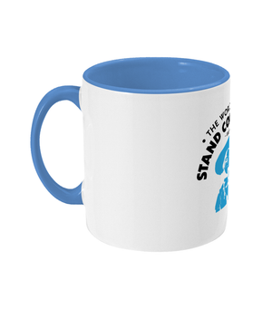 Two Toned Stand Edinburgh Cowboy Mug | Blue