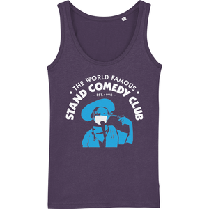 Ladies Loose Fitted Vest | The Stand Covid Blue Cowboy