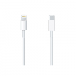 Cable usb USB-C  1 Metro Blanco