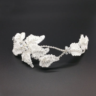 Lily Bridal Headpiece - Roman & French  - 2