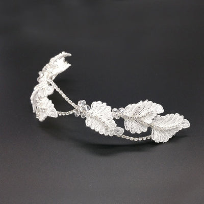 Lily Bridal Headpiece - Roman & French  - 3