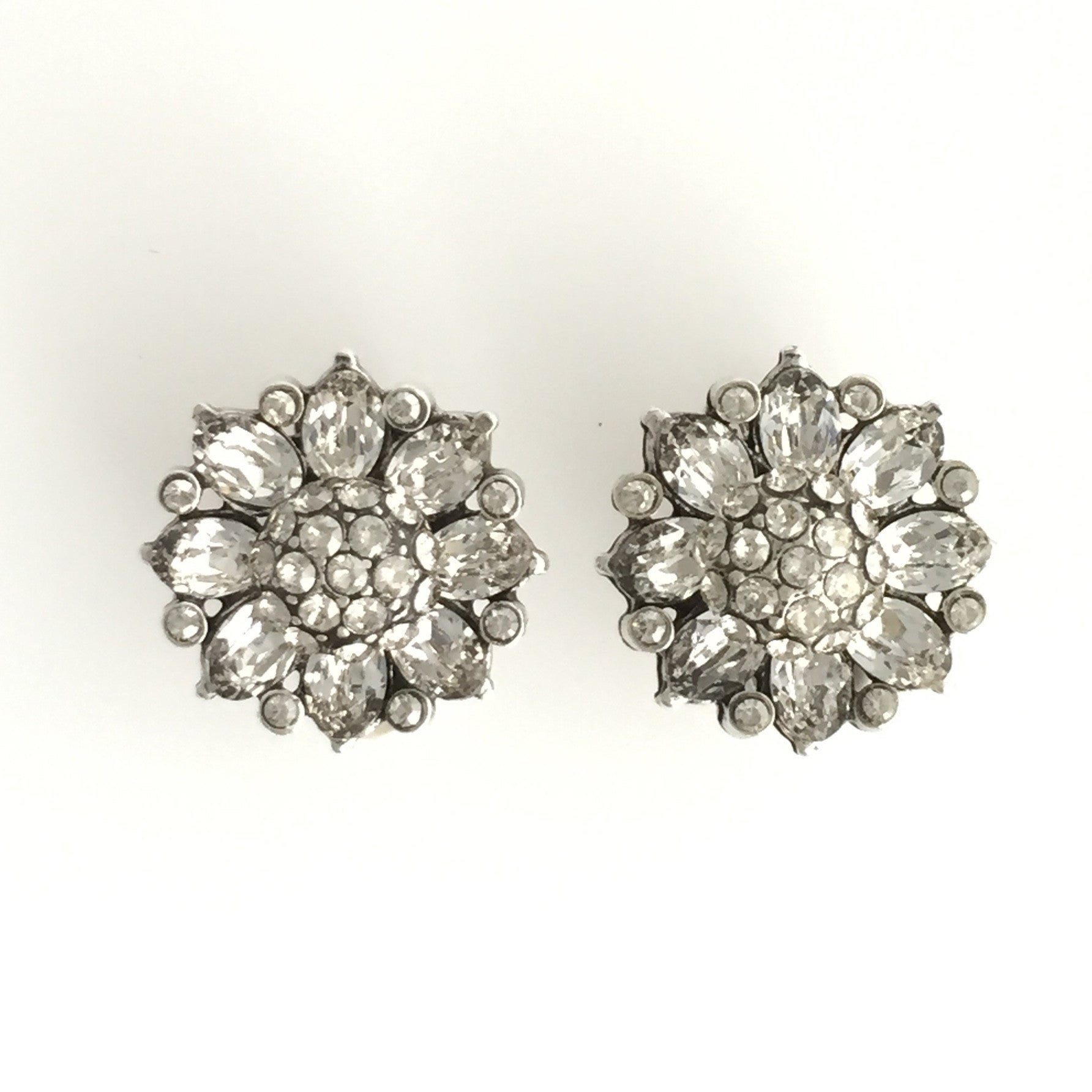 Berlin Bridal Earrings - Earrings - Glamour Stud - Roman & French