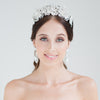Bettina - Bridal Crown Silver  or Rhodium - Hair Accessories - Tiara & Crown - Roman & French