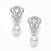 Candice Bridal Earrings - Clip On - Roman & French