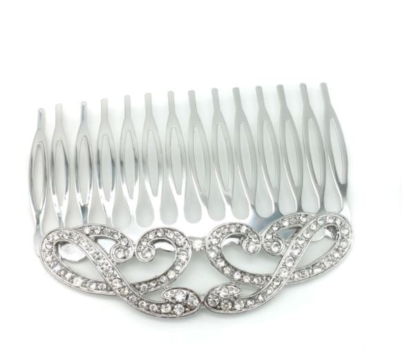 Ava Bridal Comb - Hair Accessories - Hair Comb - Roman & French