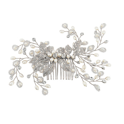 Agen Bridal Hair Comb - Hair Accessories - Hair Comb - Roman & French