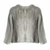 Aimer Fur Wrap in Dove - Bridal Cover-Up - Couture - Roman & French
