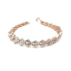 Alaska Bridal Bracelet - Rose Gold - Roman & French