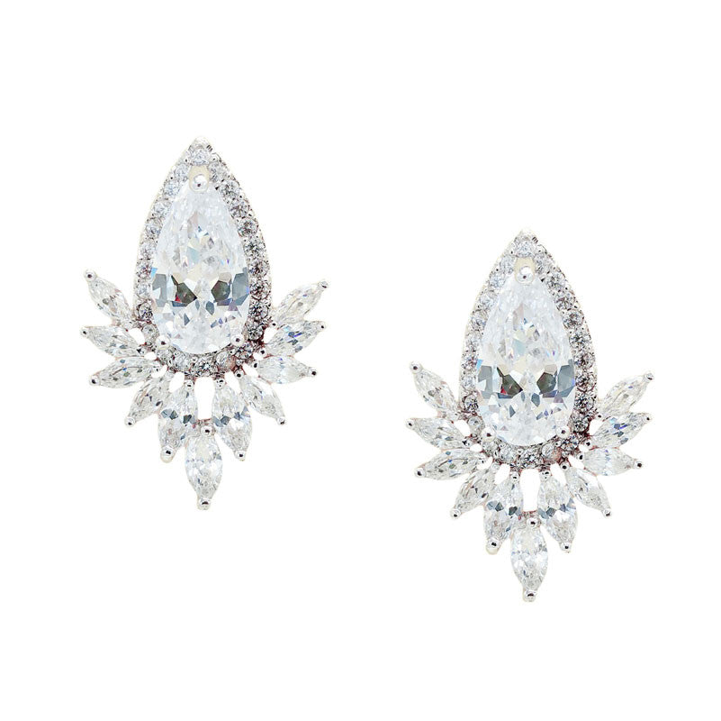 Alayah Bridal Earrings - Roman & French