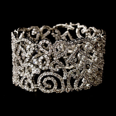 Albine Bridal Bracelet - Bracelet Wedding - Roman & French