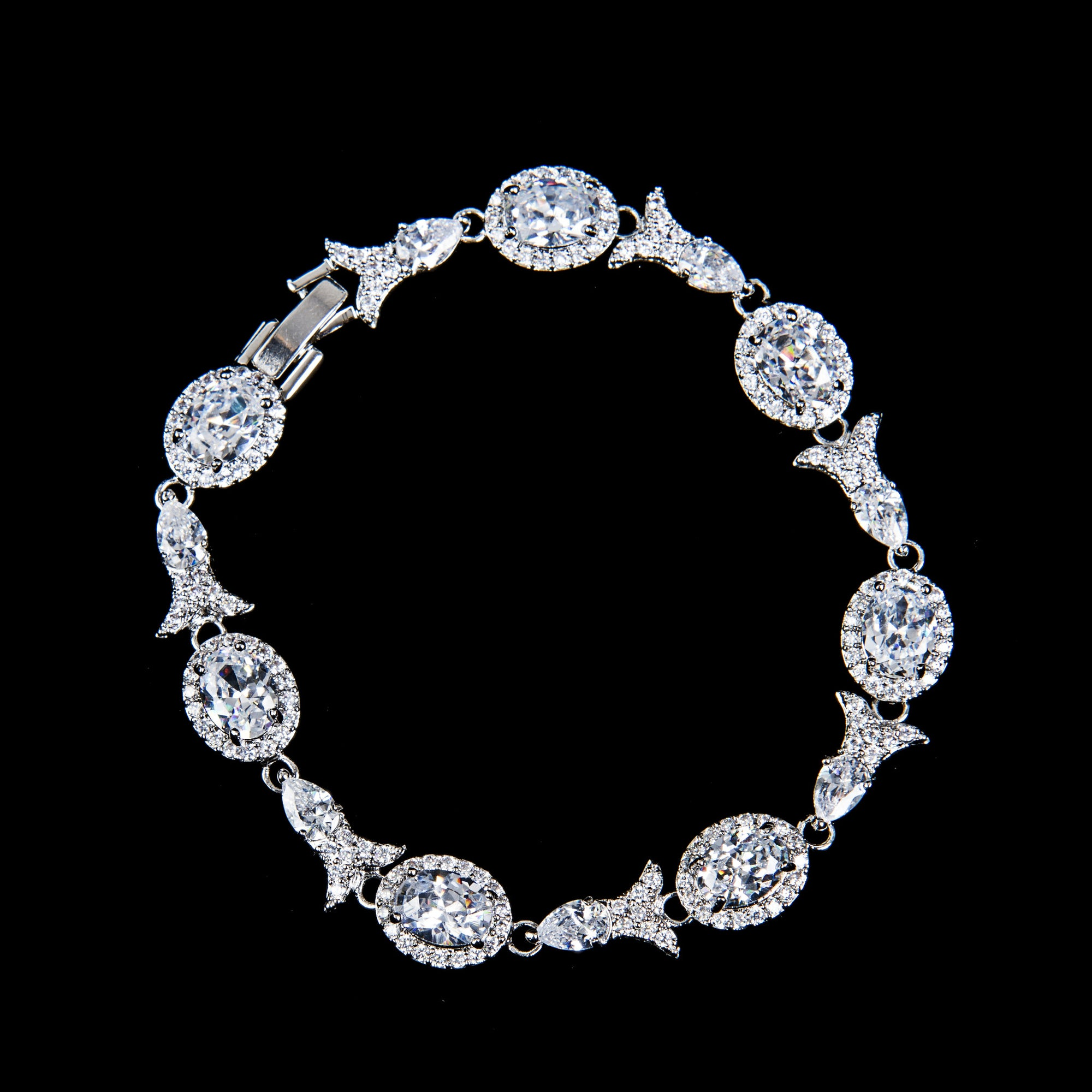 Alexandra Bridal Bracelet - Bracelet Wedding - Roman & French