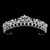 Alicia Bridal Crown (Silver) - Hair Accessories - Tiara & Crown - Roman & French