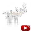Alsace Bridal Hair Comb - Hair Accessories - Hair Comb - Roman & French