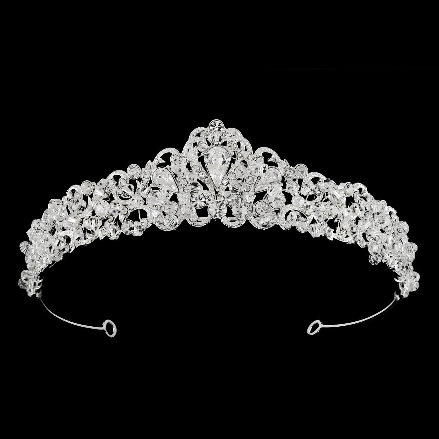 Amalie Bridal Crown - Hair Accessories - Tiara & Crown - Roman & French