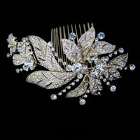 Amandine Bridal Hair Comb - Roman & French  - 2