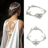 Amber Bridal Headpiece - Hair Accessories - Bohemian Halo, Circlet - Roman & French