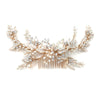 Cascata Bridal Headpiece (Rose Gold) - Hair Accessories - Headpieces - Roman & French