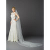 Angelica Bridal Veil - Ivory - Roman & French
