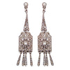 Anna Bridal Earrings - Earrings - Long Drop - Roman & French