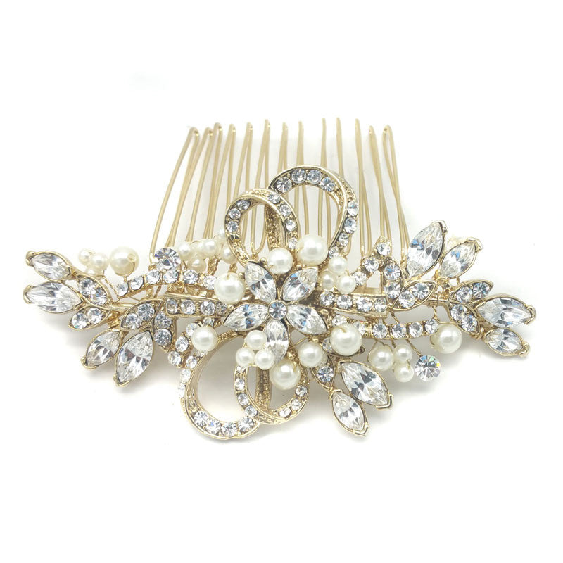 Annelle Bridal Hair Comb - Hair Accessories - Hair Comb - Roman & French