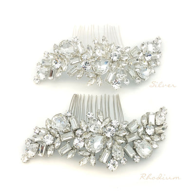 Annora Bridal Hair Comb - Hair Accessories - Hair Comb - Roman & French