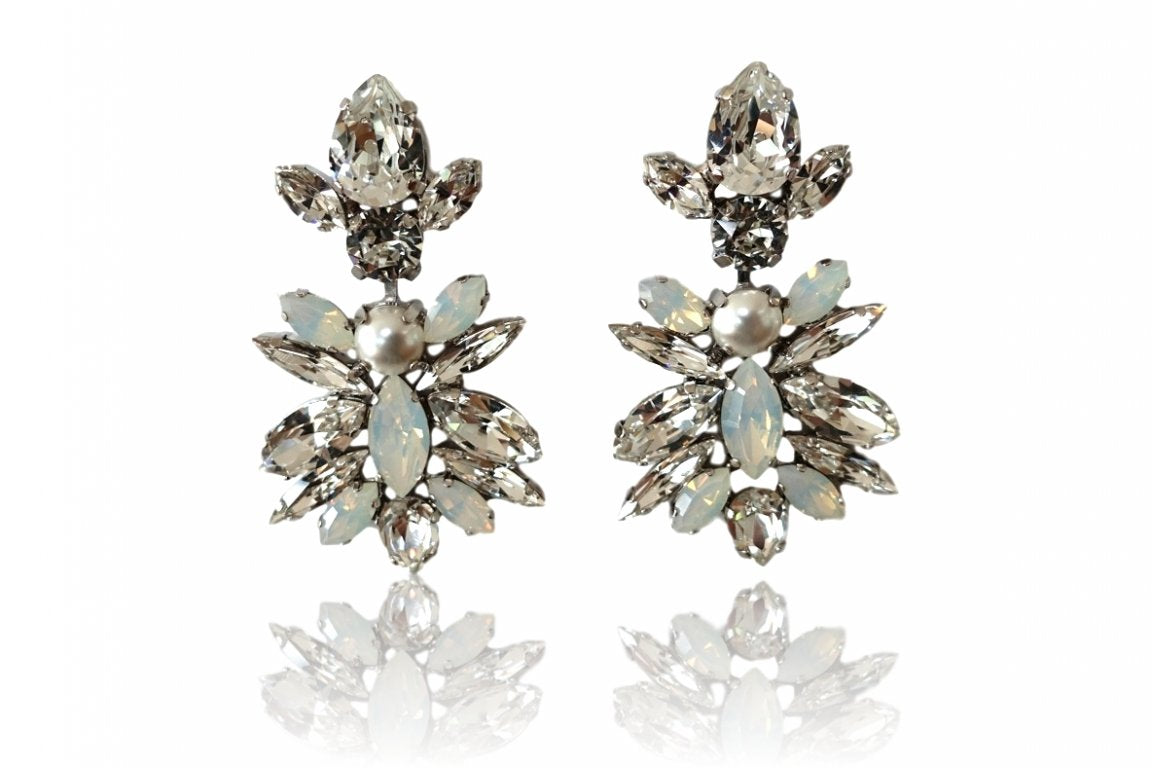 Anthi Bridal Drop Earrings