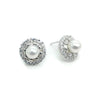 Arras Bridal Earrings - Earrings - Glamour Stud - Roman & French