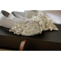 Aster Bridal Sash - Roman & French  - 5