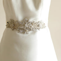 Aster Bridal Sash - Roman & French  - 1