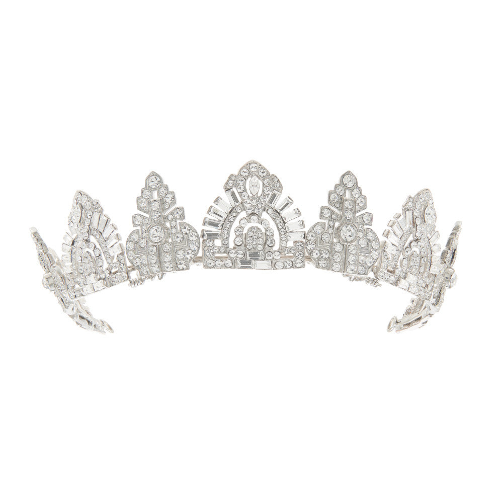 Astoria Bridal Tiara - Hair Accessories - Tiara & Crown - Roman & French