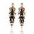Athena Drop Bridal Earrings - Roman & French  - 1