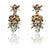 Athos Bridal Earrings - Roman & French  - 1