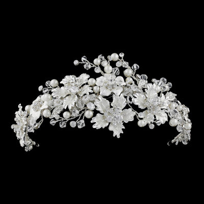 Aubriana  Bridal Headpiece - Hair Accessories - Headpieces - Roman & French