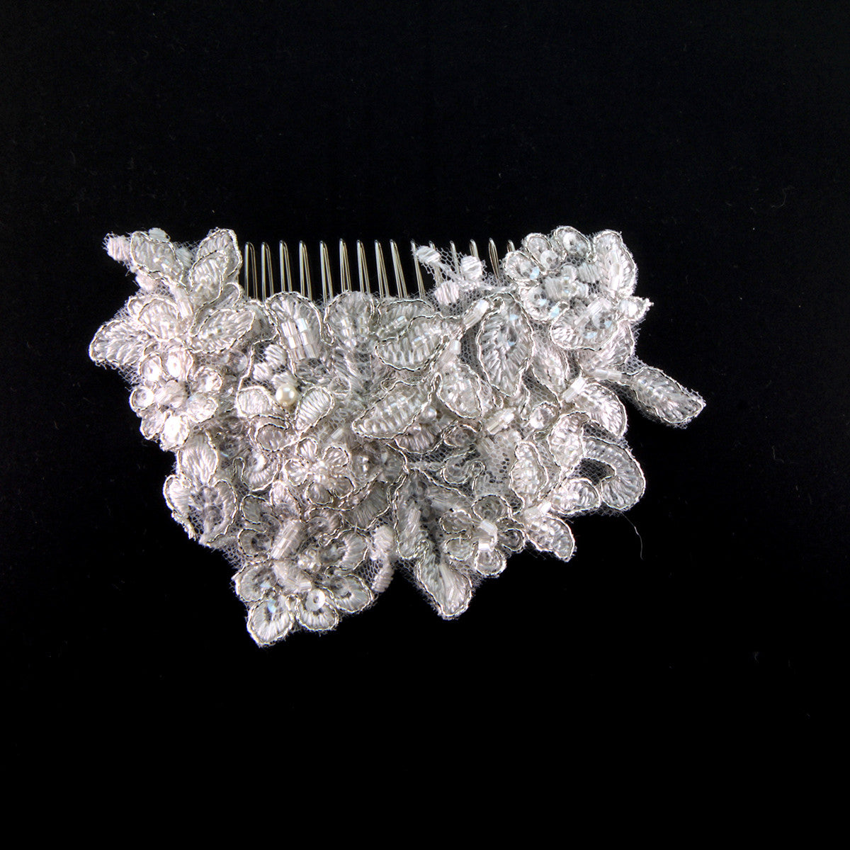 Augusta Bridal Headpiece - Hair Accessories - Hair Comb - Roman & French