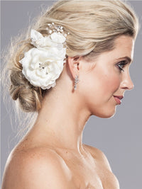Avalon Bridal Hair Comb - Roman & French  - 1