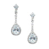 Winter Bridal & Wedding Earrings - Roman & French