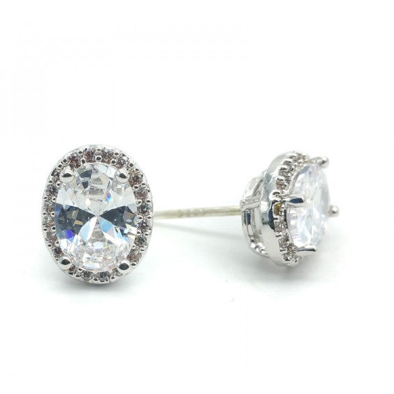 Gentry Bridal Earrings - Earrings - Glamour Stud - Roman & French