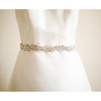 Brinne - Bridal Sash - Couture - Roman & French  - 1