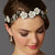 Babette Bridal Halo - Hair Accessories - Bohemian Halo, Circlet - Roman & French