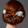 Beaumont Bridal Hair Comb - Hair Accessories - Hair Comb - Roman & French