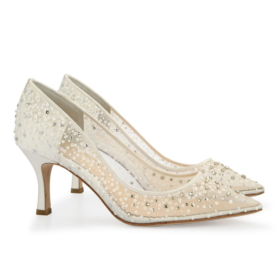 a538600df4bc Evelyn Ivory - Bridal Shoes - Roman   French