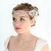Bernadette Bridal Headpiece - Roman & French  - 3