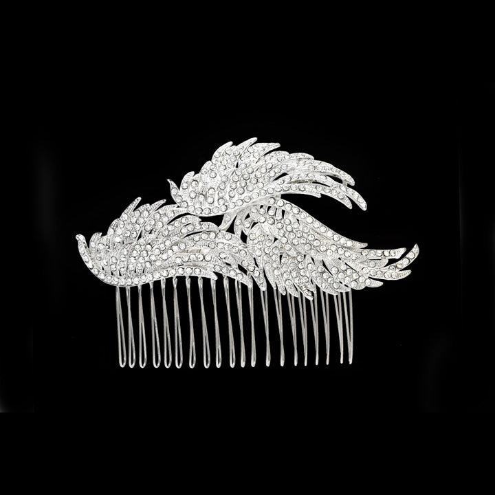 Bird of a Feather Comb - Hair Accessories - Hair Comb - Roman & French