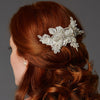 Blondelle Bridal Hair Comb Ivory - Roman & French  - 1