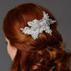 Blondelle Bridal Hair Comb White - Roman & French  - 1